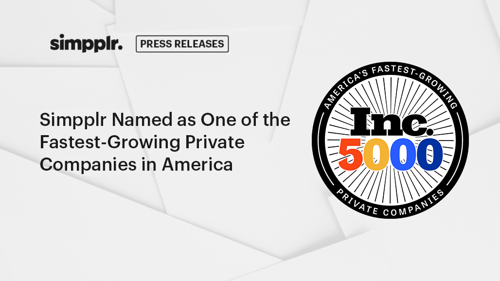 Simpplr Named as One of the Fastest-Growing Private Companies in America